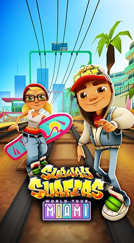 Download Subway surfers: World tour Miami Android free game. Get full version of Android apk app Subway surfers: World tour Miami for tablet and phone.
