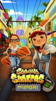 In addition to the game Kingdom Rush for Android phones and tablets, you can also download Subway surfers: World tour Mumbai for free.