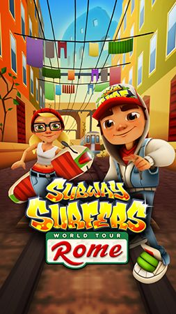 Download Subway surfers: World tour Rome Android free game. Get full version of Android apk app Subway surfers: World tour Rome for tablet and phone.