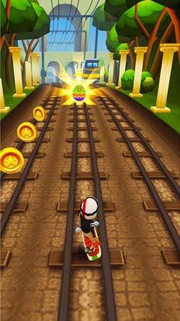 Subway surfers: World tour Rome - Android game screenshots. Gameplay ...