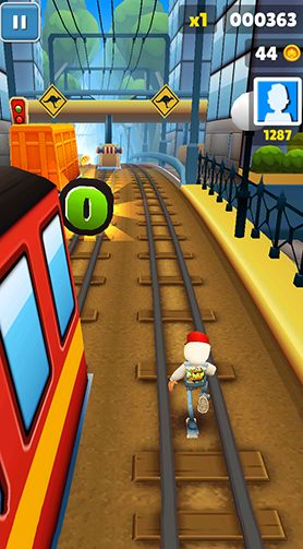 Subway surfers: World tour Sydney - Android game screenshots. Gameplay