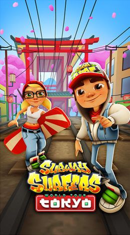 Screenshots of the Subway surfers: World tour Tokyo for Android tablet, phone.