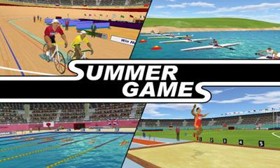 Screenshots of the Summer Games 3D for Android tablet, phone.