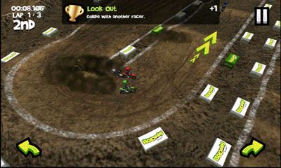 Screenshots of the SupaSupaCross for Android tablet, phone.