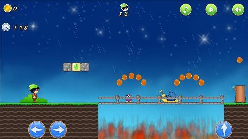 Screenshots of the Super adventurer 2 for Android tablet, phone.