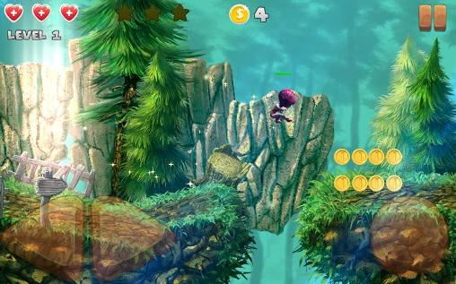 Screenshots of the Super elf jump for Android tablet, phone.