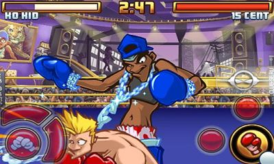 Screenshots of the SUPER KO BOXING! 2 for Android tablet, phone.