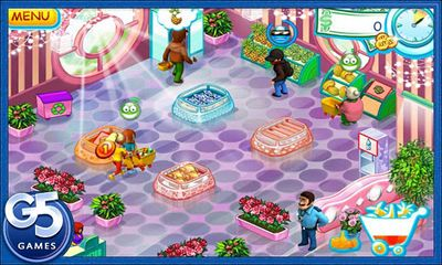 Screenshots of the Supermarket Mania for Android tablet, phone.