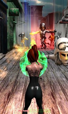 Screenshots of the Supernatural Powers HD for Android tablet, phone.