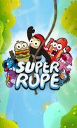 In addition to the game Asphalt Surfers for Android phones and tablets, you can also download SuperRope for free.