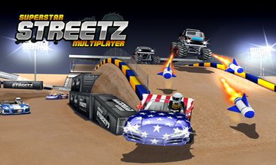 Screenshots of the Superstar Streetz MMO for Android tablet, phone.