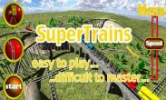 In addition to the game Angry Birds for Android phones and tablets, you can also download SuperTrains for free.