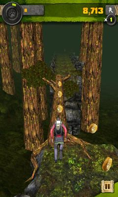 Screenshots of the Survival Run with Bear Grylls for Android tablet, phone.
