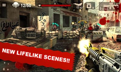 Screenshots of the SWAT: End War for Android tablet, phone.
