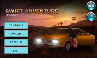 Screenshots of the Swift Adventure for Android tablet, phone.