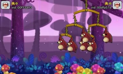 Screenshots of the Swing Shot for Android tablet, phone.