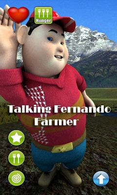 Talking Fernando Farmer - Android game screenshots. Gameplay Talking