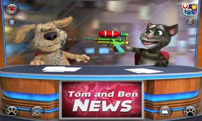 Talking Tom & Ben News - Android game screenshots. Gameplay Talking ...