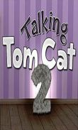 In addition to the game Talking Tom Cat v1.1.5 for Android phones and tablets, you can also download Talking Tom Cat 2 for free.