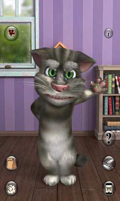 Screenshots of the Talking Tom Cat 2 for Android tablet, phone.