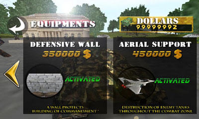Defender 2 - Android game screenshots. Gameplay Tank War Defender 2