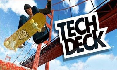 Screenshots of the Tech Deck Skateboarding for Android tablet, phone.