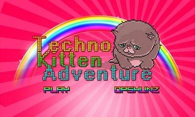 Screenshots of the Techno Kitten Adventure for Android tablet, phone.