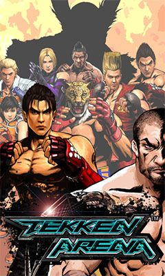 Screenshots of the Tekken arena for Android tablet, phone.