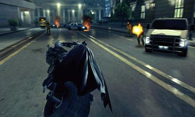 Screenshots of the The Dark Knight Rises for Android tablet, phone.