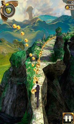 Screenshots of the Temple Run: Oz for Android tablet, phone.