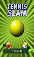 In addition to the game Logos quiz for Android phones and tablets, you can also download Tennis Slam for free.