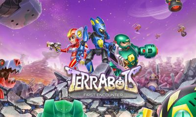 Screenshots of the Terrabots First Encounter for Android tablet, phone.