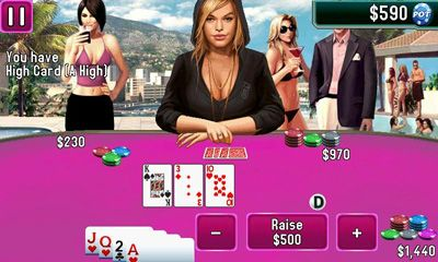 Screenshots of the Texas Hold'em Poker 2 for Android tablet, phone.
