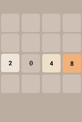 Download 2048 Android free game. Get full version of Android apk app 2048 for tablet and phone.