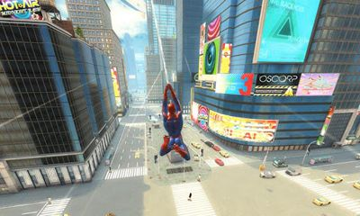 Screenshots of the The Amazing Spider-Man for Android tablet, phone.
