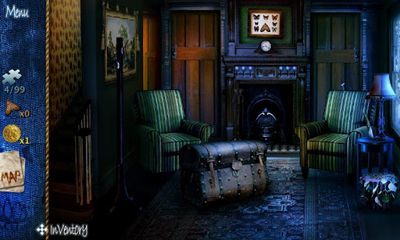 Screenshots of the The Haunt for Android tablet, phone.