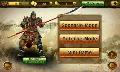 Screenshots of the Cryptic Kingdoms for Android tablet, phone.