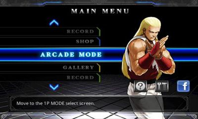 Screenshots of the The King of Fighters for Android tablet, phone.