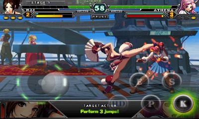 Screenshots of the The King of Fighters-A 2012 for Android tablet, phone.