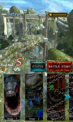Screenshots of the The Legend of Holy Archer for Android tablet, phone.