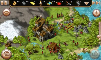 Screenshots of the The Settlers HD for Android tablet, phone.