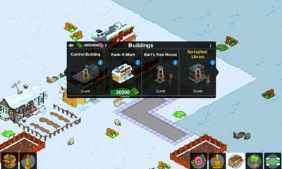 Simpsons Tapped Out - Android game screenshots. Gameplay The Simpsons