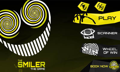 Screenshots of the The Smiler for Android tablet, phone.