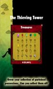 In addition to the game Wonderlines match-3 puzzle for Android phones and tablets, you can also download The Thieving Tower for free.
