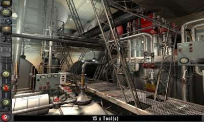 Screenshots of the The Time Machine Hidden Object for Android tablet, phone.