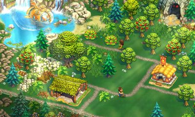 Screenshots of the The Tribez for Android tablet, phone.
