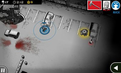 Screenshots of the The Walking Dead - Assault for Android tablet, phone.