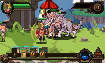Screenshots of the Thor Lord of Storms for Android tablet, phone.