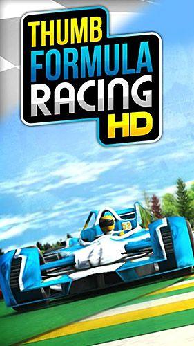 Imagens da corrida de fórmula Thumb para tablet Android, telefone.