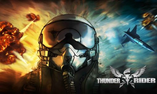 Screenshots of the Thunder rider: First flight for Android tablet, phone.